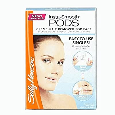 Best Cheap Deal for Sally Hansen Insta-Smooth Pods Creme Hair Remover For Face 4 Packs by Sally Hansen - Free 2 Day Shipping Available