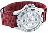 Terrain Bordeaux Velcro Strap Sports Watch