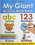 img - for My Giant Activity Work Book (Wipe Clean) book / textbook / text book