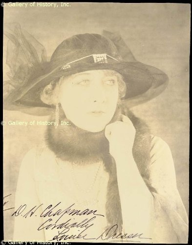 Louise Dresser - Inscribed Photograph Signed
