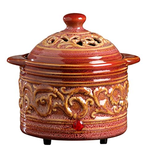 Hosley Candle Company Red Electric Potpourri Warmer