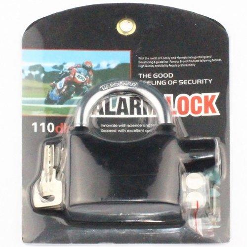 Alarmed Padlock Home Garage Alarm Security Locks Fk-8809