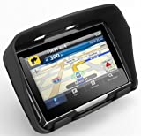 IWIN 4.3 Inch Motorcycle GPS Navigation - Waterproof, 4gb Internal Memory, Bluetooth with USA, Canada, and Mexico Maps.