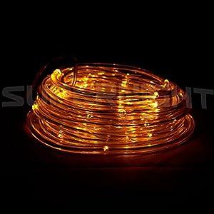 timer outdoor rope string lights ideal for christmas wedding party. Black Bedroom Furniture Sets. Home Design Ideas