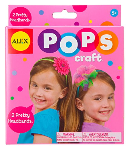 ALEX Toys POPS Craft 2 Pretty Headbands - 1