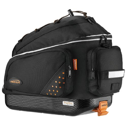 Best Review Of Ibera PakRak Bicycle Quick-Release Commuter Trunk Bag