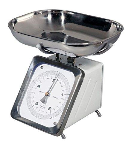 Cabanaz balance analogique blanc jusqu'à 5 kg (1201402)