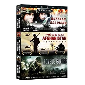 Guerre : Buffalo Soldiers / Piege En Afghanistan / Zone De Guerre (3 DVDs) (French Version)