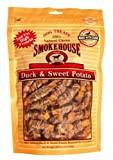 Smokehouse 100-Percent Natural Duck and Sweet Potato Dog Treats, 16-Ounce