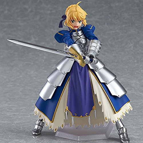 Rosy Women Fate Stay Night Ubw Zero New Saber Knight Girl Arthur Pvc Action Figure Collection Model Toys Doll 15Cm