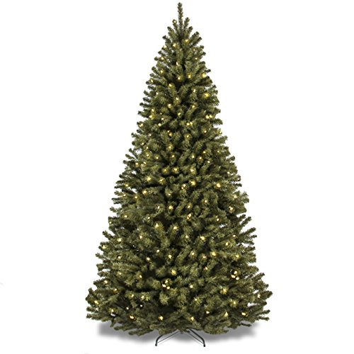 best-choice-products-75-ft-prelit-premium-spruce-hinged-artificial-christmas-tree-w-550-clear-lights