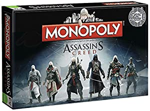 Board Game - Assassin's Creed Monopoly Board Game ...