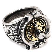 Feromonic Field Detector Steampunk Alchemy Gothic Ring