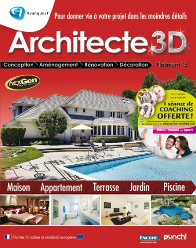 Architecte 3d pas cher for 3d architecte pro