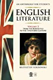 img - for English Literature An Anthology for Students by Krzysztof Fordonski (2011-01-07) book / textbook / text book