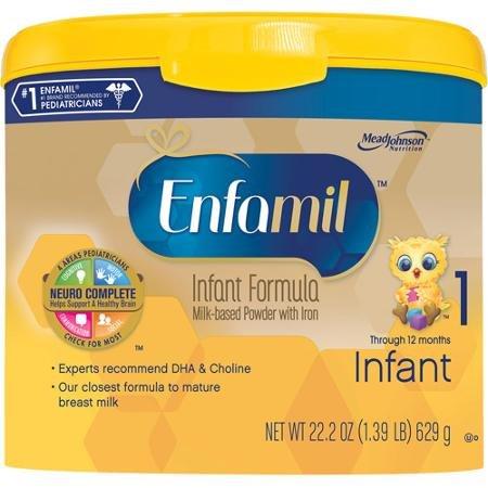 Enfamil Premium Infant Powder Formula 1, Powder, 0-12 Months (22.2 oz)