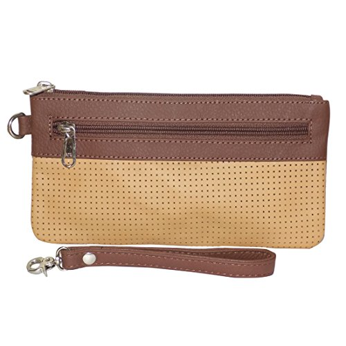 Style98 100% Leather Unisex Multi Purpose Toiletry Bag||Toiletry Kit||Toiletry Pouch||Handbag||Travel Toiletry... - B071HQLJTM