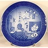 Royal Copenhagen 1901115 Christmas Plate 2015