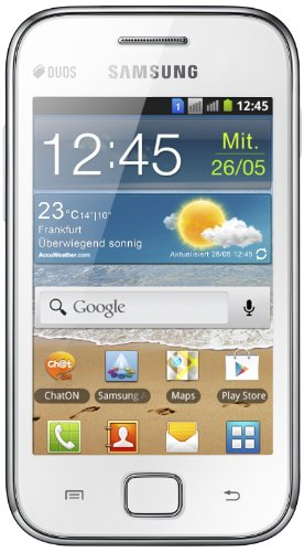 Samsung Galaxy Ace Duos S 6802 Chic Bianco