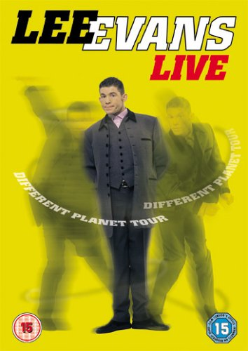 Lee Evans: Different Planet Tour Cover