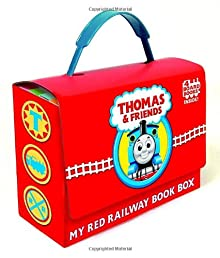 Thomas and Friends: My Red Railway Book Box (Thomas & Friends) (Bright & Early Board Books(TM))