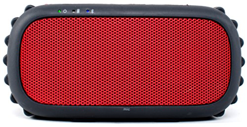 Ecoxgear Ecorox Rugged and Waterproof Wireless Bluetooth Speaker - Red Black Friday & Cyber Monday 2014
