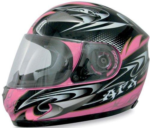 AFX FX-90 W-Dare Helmet , Size: Md, Primary Color: Pink, Distinct Name: Pink W-Dare, Helmet Type: Full-face Helmets, Helmet Category: Street, Gender: Mens/Unisex 0101-5786