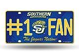 NCAA Southern Jaguars #1 Fan Metal Tag License Plate