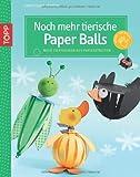 Noch mehr tierische Paper Balls: Neue Tierfiguren aus Papierstreifen