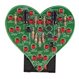 LED Flashing Heart Kit