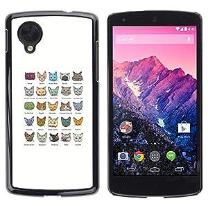 Turkish Angora Egyptian Mau - LG Google Nexus 5 D820 D821: Electronics