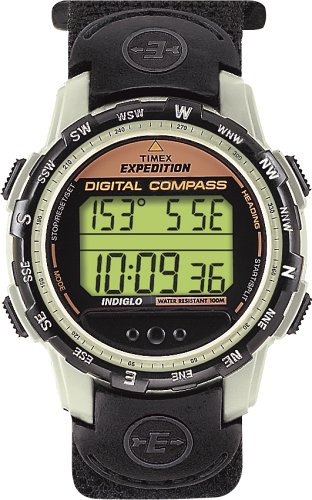 Timex Men's Outdoor Performance Chrono Alarm Timer Expedition Watch  T47512
