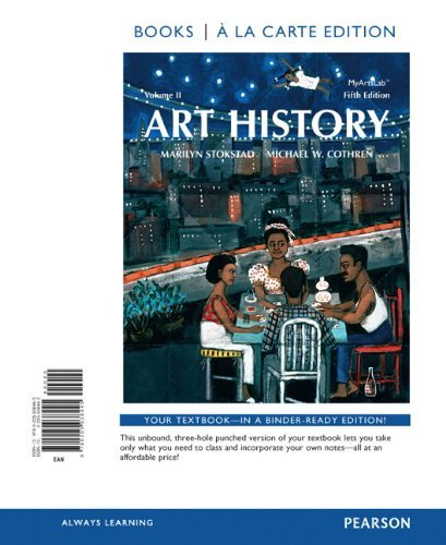Art History Volume 2, Books al a Carte Plus NEW MyArtsLab with...