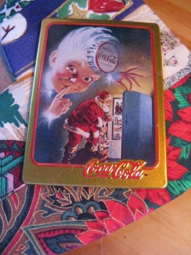 1948 Coca-Cola Santa Card (1994 Limited Edition Metal Card)