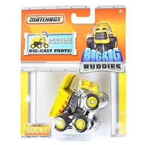 """Matchbox Big Rig Buddies """"Rocky the Robot Truck"""