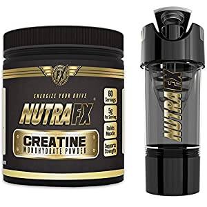Micronized Creatine Monohydrate Powder - Unflavored - 5 G Per Serving