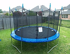 Bounce-Rite Big Bounce 14 Foot Trampoline with enclosure