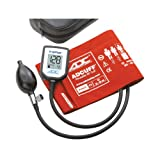 ADC 7002 E-sphyg Digital Pocket Aneroid Sphygmomanometer Blood Pressure Monitor, Reusable BP Cuff, Adult, Orange (Color: Orange, Tamaño: 11 - Adult)