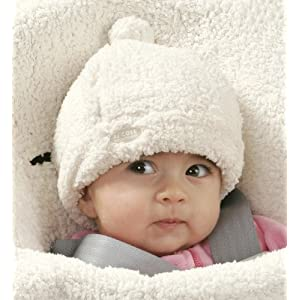 JJ Cole Bundleme Shearling Baby Hat 可爱羊毛婴儿冬季保暖帽