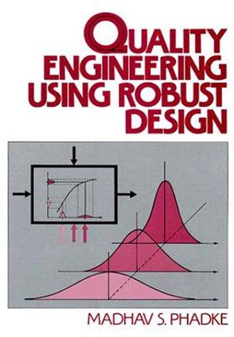 Quality Engineering Using Robust Design