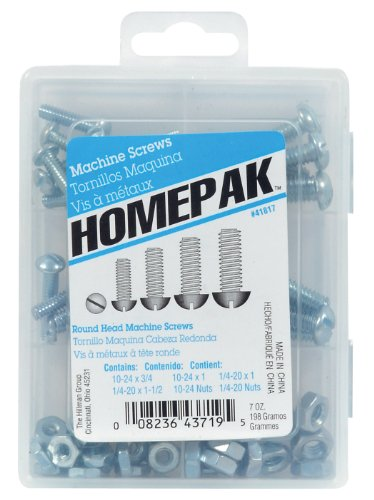 HOMEPAK 41817 Round Head Machine Screws
