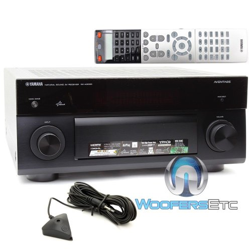 rx a3030 yamaha 9 2 channel home theater receiver with. Black Bedroom Furniture Sets. Home Design Ideas