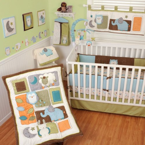 Owl Baby Bedding Set 4517 front