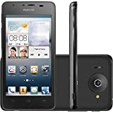 """Huawei Ascend G510 Dual Core 4.5"""" IPS Android Smartphone (GSM Factory Unlocked) - Dual Core, 4.5"""" IPS Screen, Dual Cameras, 3G 900/2100 MHz - Black"""