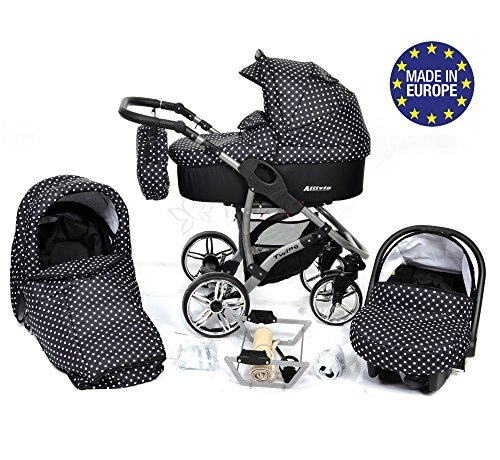 Baby sportive allivio sistema de viaje 3 en 1 silla de for Capazo y silla 2 en 1