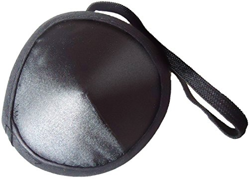 CoMo Good 眼帯 コスプレ 黒 フリーサイズ 収納袋セット