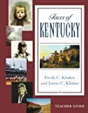 img - for Faces Of Kentucky (Teacher's Guide) book / textbook / text book
