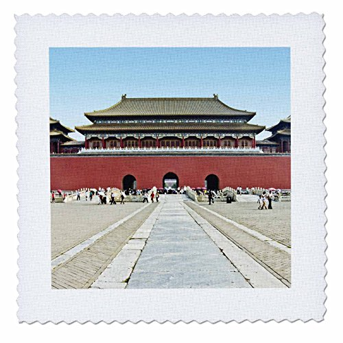 Boehm Photography Landscape - Forbidden City Meridian Gate Approach - 25x25 inch quilt square (Meridian City)