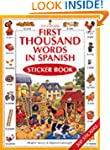 First 1000 Words in Spanish Sticker B...