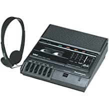 Panasonic RR 830 Desktop Cassette Transcriber / Recorder available at Amazon for Rs.77984